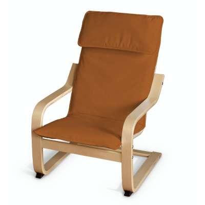 Poduszka na fotelik dziecięcy Poäng 702-42 rudy Kolekcja Cotton Panama