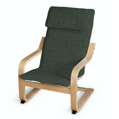 Poduszka na fotelik dziecięcy Poäng 704-81 leśna zieleń szenil Kolekcja City