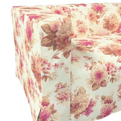 Pokrowiec na sofę Klippan 2-osobową długi z kontrafałdami w kolekcji Londres, tkanina: 141-06