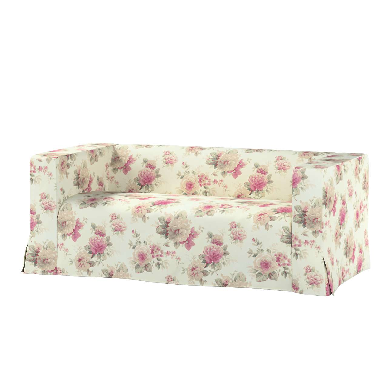 Pokrowiec na sofę Klippan 2-osobową długi z kontrafałdami Klippan 2-os w kolekcji Mirella, tkanina: 141-07