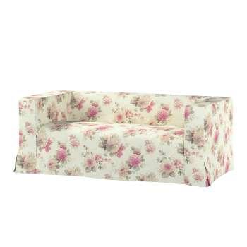Pokrowiec na sofę Klippan 2-osobową długi z kontrafałdami w kolekcji Mirella, tkanina: 141-07