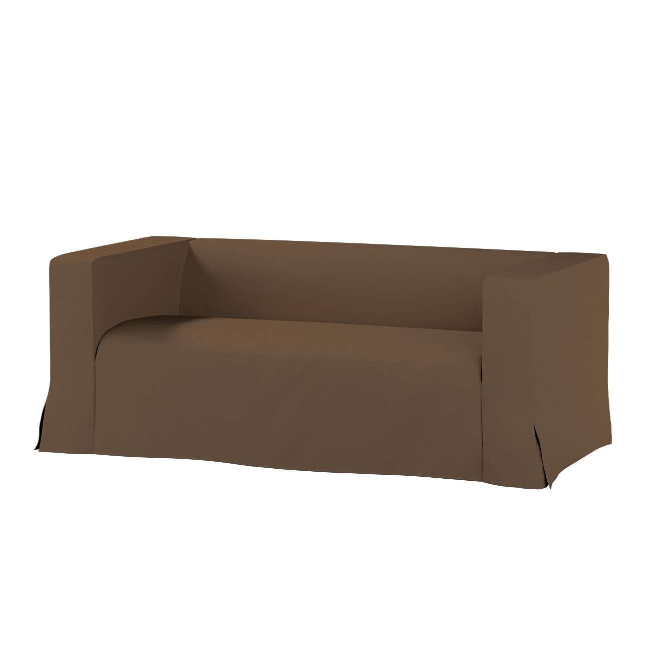 Pokrowiec na sofę Klippan 2-osobową długi z kontrafałdami Klippan 2-os w kolekcji Cotton Panama, tkanina: 702-02