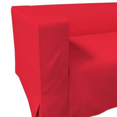 Pokrowiec na sofę Klippan 2-osobową długi z kontrafałdami w kolekcji Cotton Panama, tkanina: 702-04