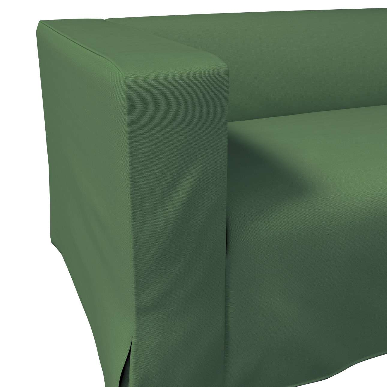 Klippan dvivietės sofos užvalkalas (ilgas, iki žemės) kolekcijoje Cotton Panama, audinys: 702-06