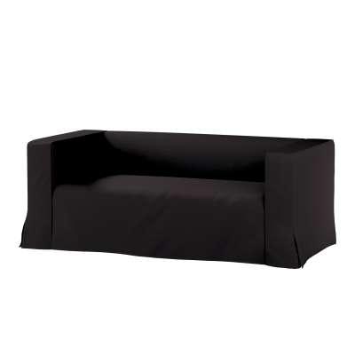 Pokrowiec na sofę Klippan 2-osobową długi z kontrafałdami w kolekcji Cotton Panama, tkanina: 702-08