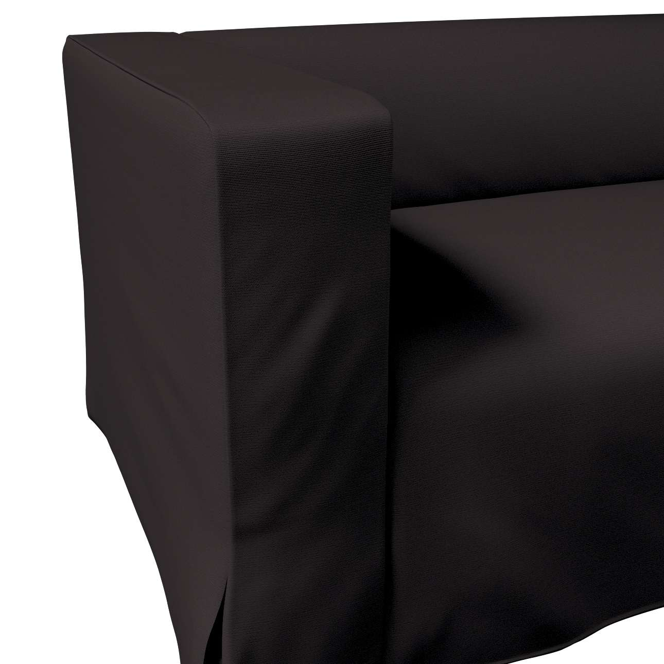 Klippan dvivietės sofos užvalkalas (ilgas, iki žemės) kolekcijoje Cotton Panama, audinys: 702-09