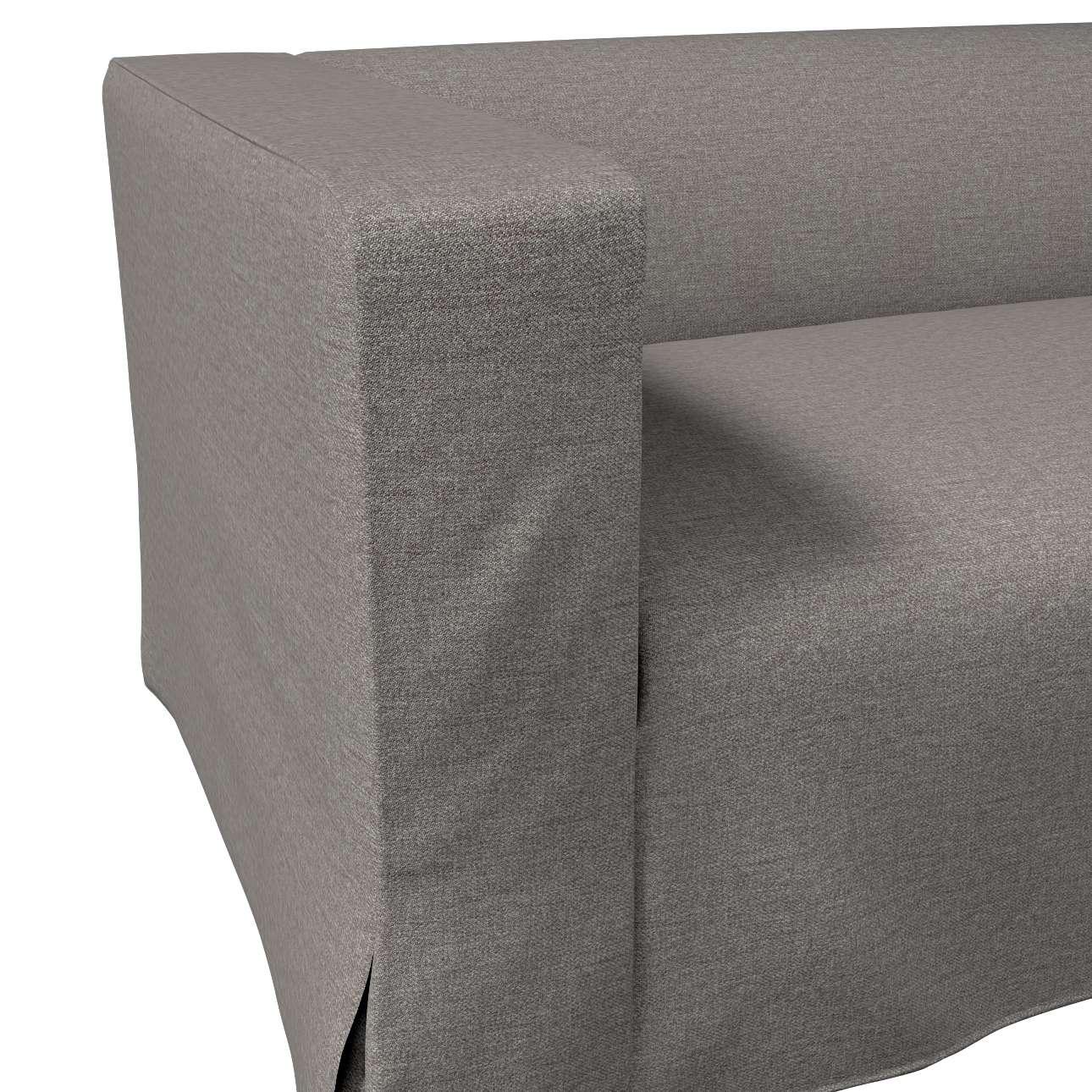 Poťah na sedačku Klippan pre 2 osoby dlhý s rohovými záhybmi V kolekcii Edinburg, tkanina: 115-77