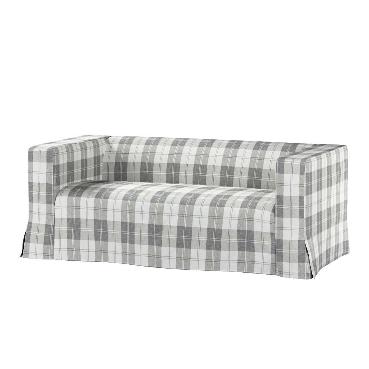 Pokrowiec na sofę Klippan 2-osobową długi z kontrafałdami Klippan 2-os w kolekcji Edinburgh, tkanina: 115-79