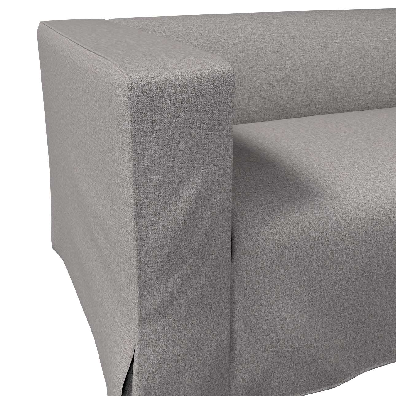 Klippan 2-Sitzer Sofabezug lang mit Kellerfalte von der Kollektion Edinburgh , Stoff: 115-81