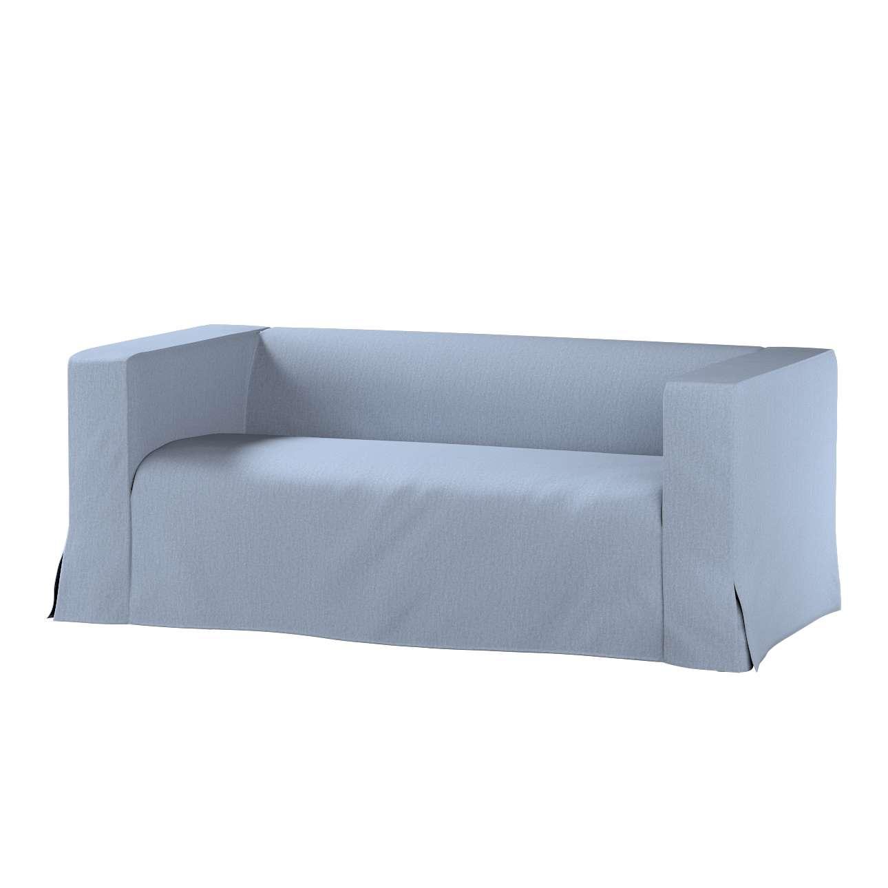 Pokrowiec na sofę Klippan 2-osobową długi z kontrafałdami Klippan 2-os w kolekcji Chenille, tkanina: 702-13