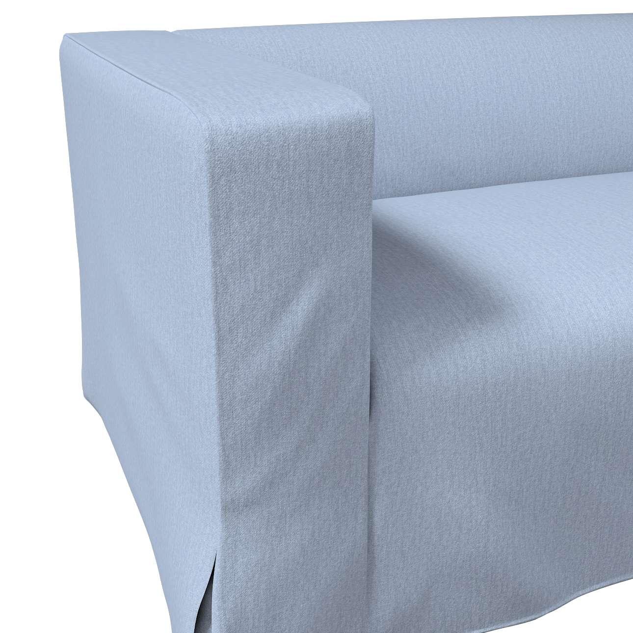 Klippan dvivietės sofos užvalkalas (ilgas, iki žemės) kolekcijoje Chenille, audinys: 702-13