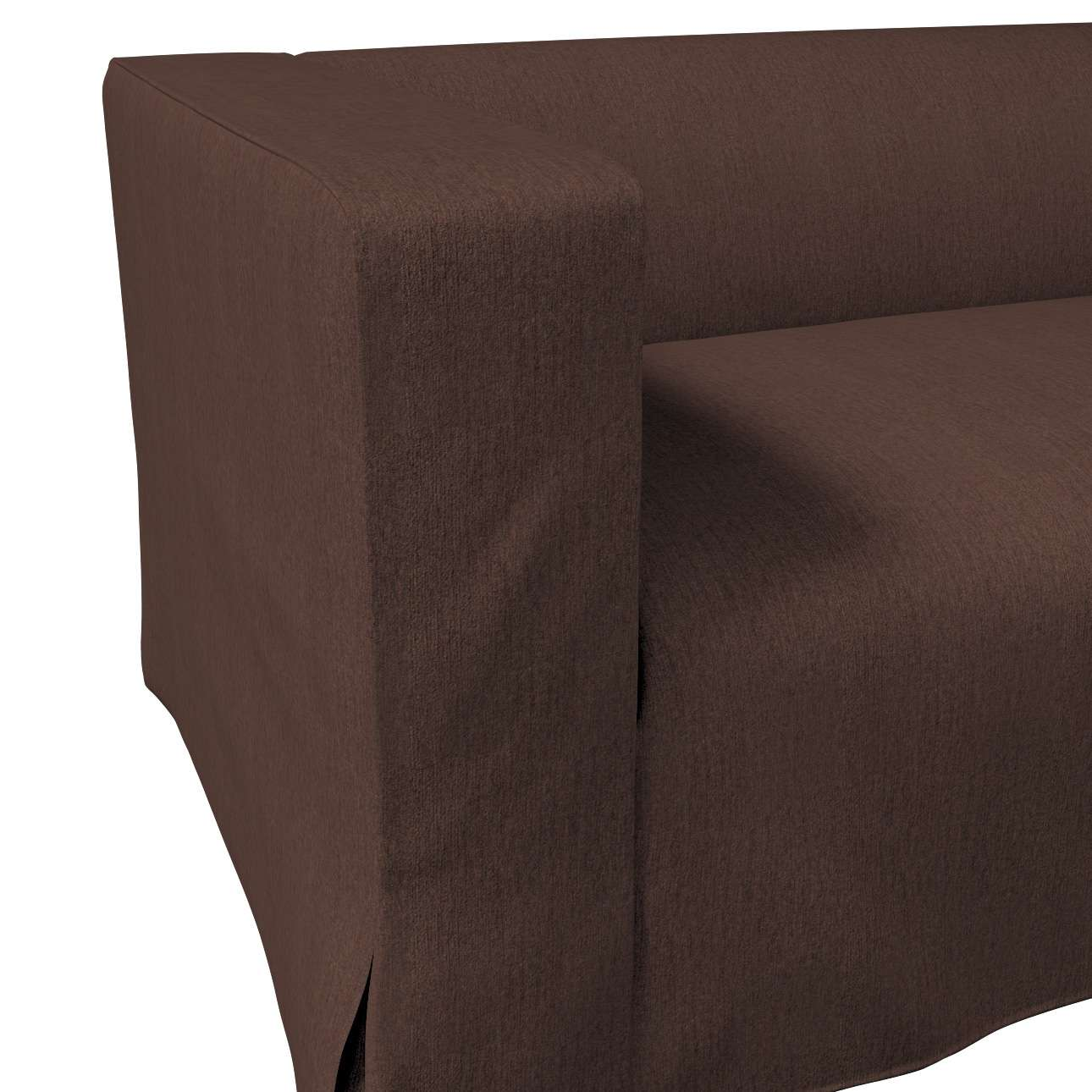 Klippan dvivietės sofos užvalkalas (ilgas, iki žemės) kolekcijoje Chenille, audinys: 702-18