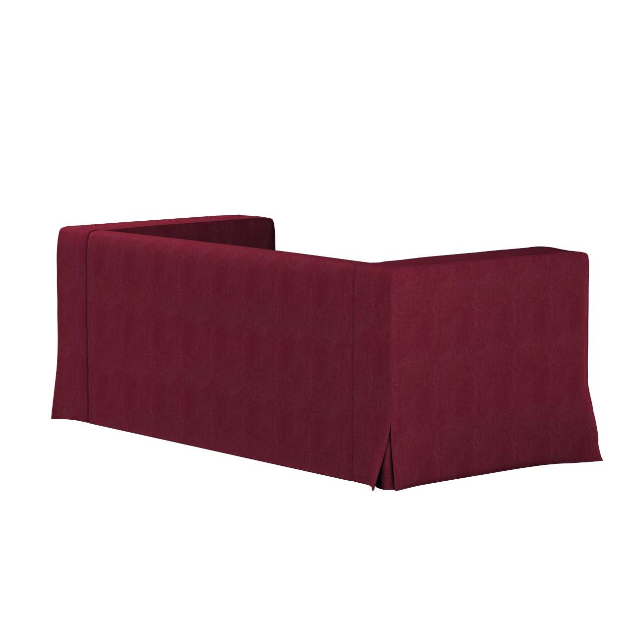 Klippan dvivietės sofos užvalkalas (ilgas, iki žemės) kolekcijoje Chenille, audinys: 702-19