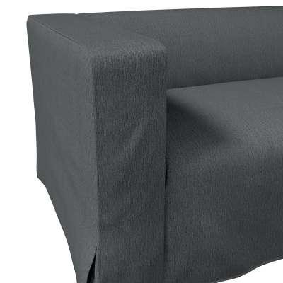 Pokrowiec na sofę Klippan 2-osobową długi z kontrafałdami w kolekcji Chenille, tkanina: 702-20