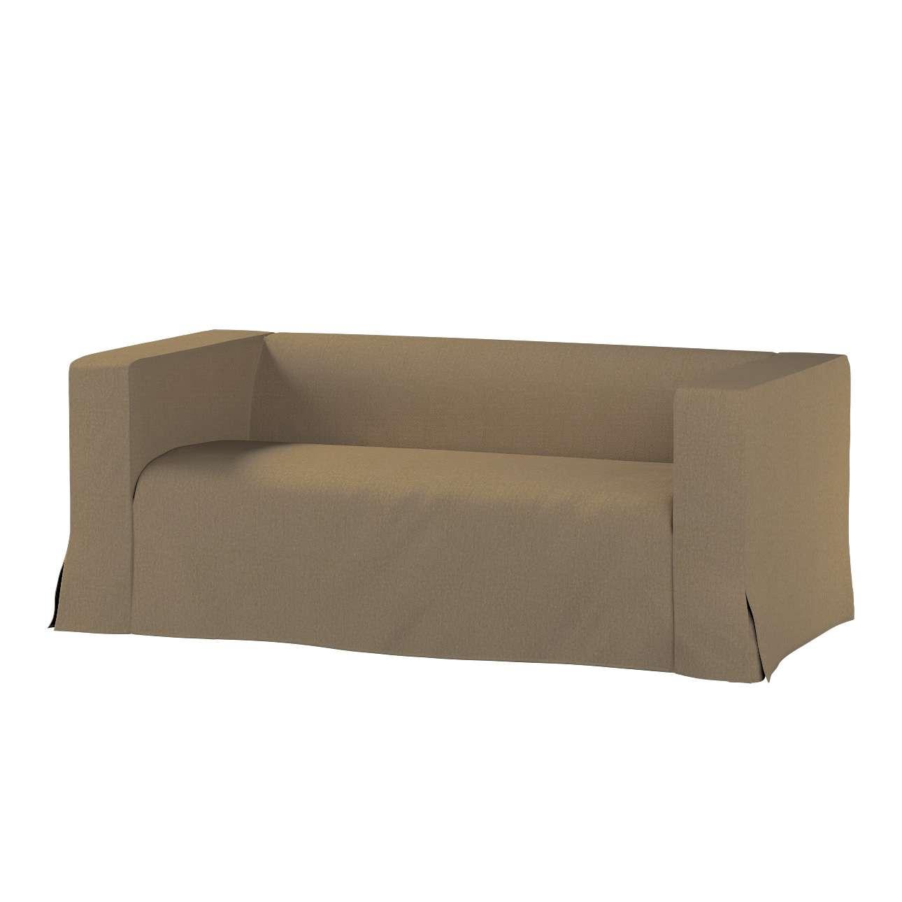 Pokrowiec na sofę Klippan 2-osobową długi z kontrafałdami Klippan 2-os w kolekcji Chenille, tkanina: 702-21