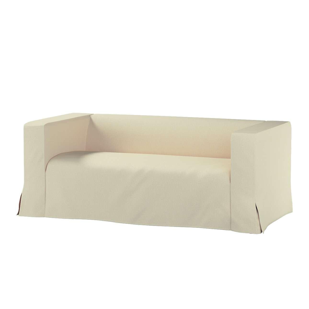 Pokrowiec na sofę Klippan 2-osobową długi z kontrafałdami Klippan 2-os w kolekcji Chenille, tkanina: 702-22