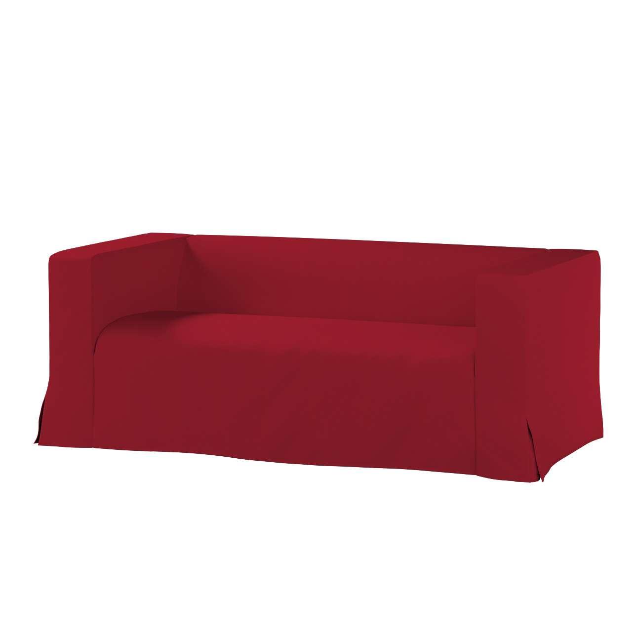 Pokrowiec na sofę Klippan 2-osobową długi z kontrafałdami Klippan 2-os w kolekcji Chenille, tkanina: 702-24