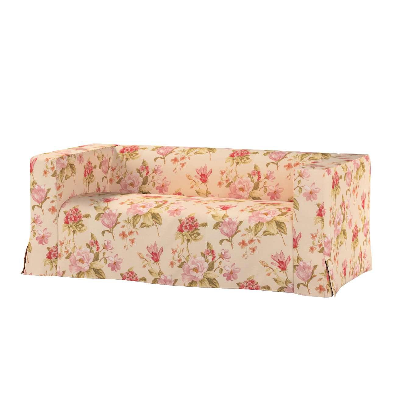 Pokrowiec na sofę Klippan 2-osobową długi z kontrafałdami Klippan 2-os w kolekcji Londres, tkanina: 123-05