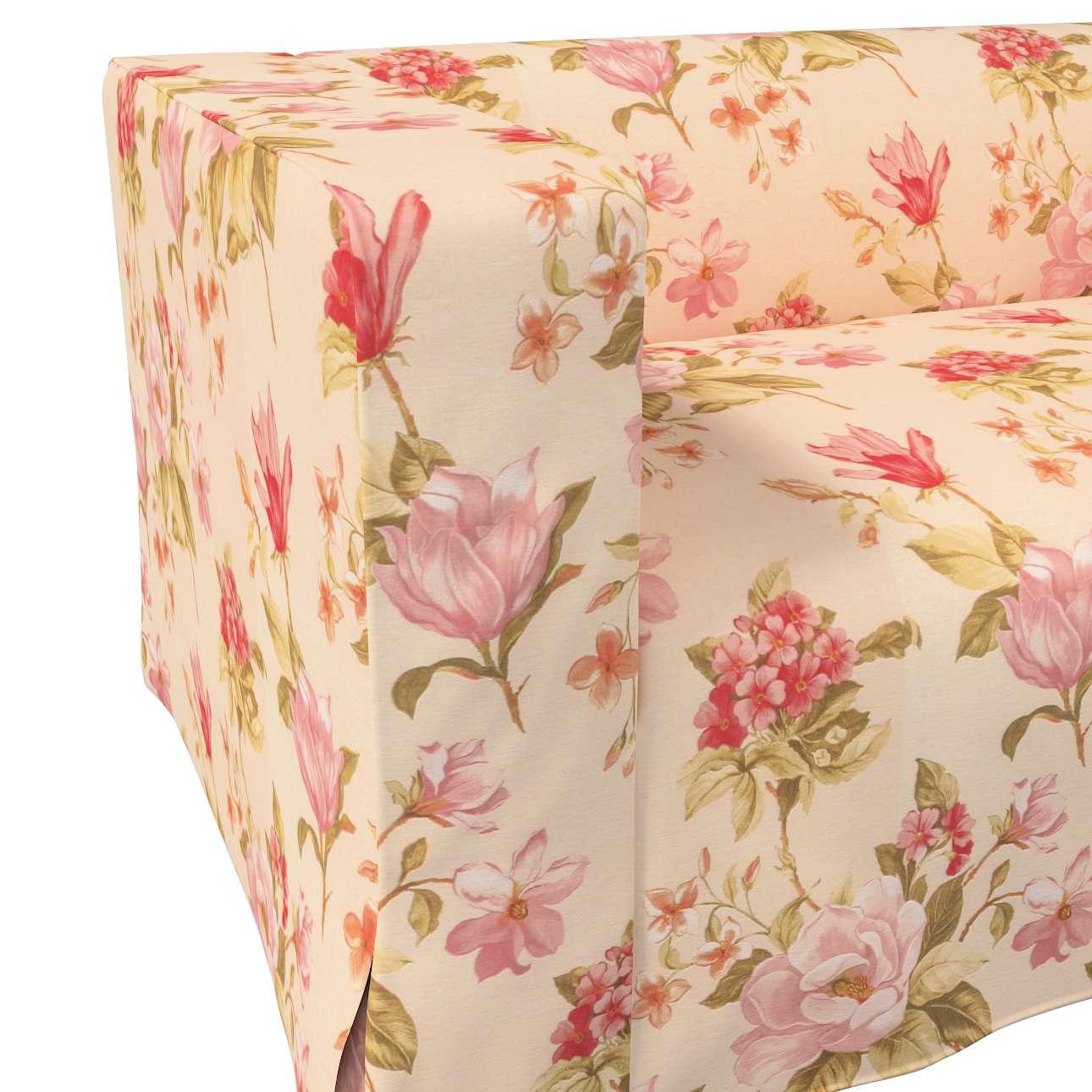 Pokrowiec na sofę Klippan 2-osobową długi z kontrafałdami w kolekcji Londres, tkanina: 123-05