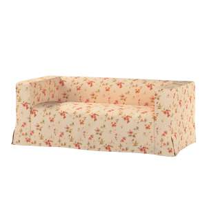 Pokrowiec na sofę Klippan 2-osobową długi z kontrafałdami Klippan 2-os w kolekcji Londres, tkanina: 124-05