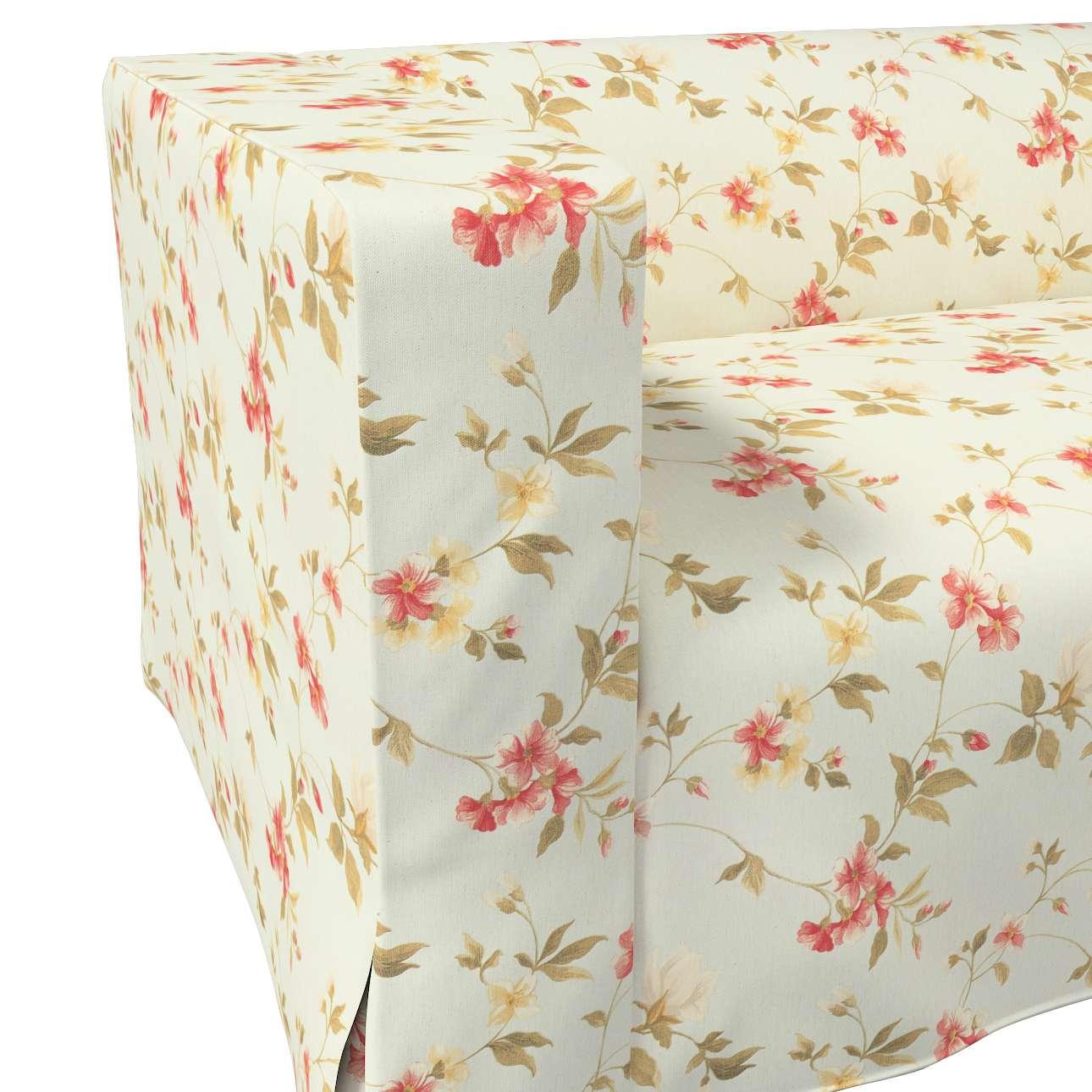Pokrowiec na sofę Klippan 2-osobową długi z kontrafałdami w kolekcji Londres, tkanina: 124-65