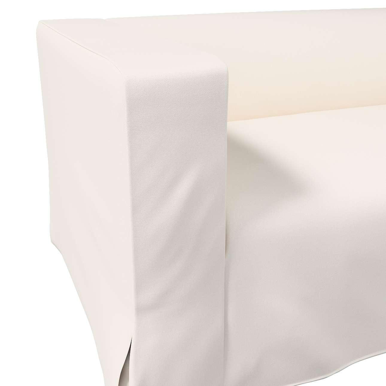 Pokrowiec na sofę Klippan 2-osobową długi z kontrafałdami w kolekcji Etna, tkanina: 705-01