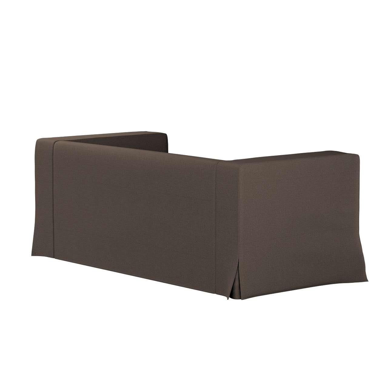 Pokrowiec na sofę Klippan 2-osobową długi z kontrafałdami w kolekcji Etna, tkanina: 705-08