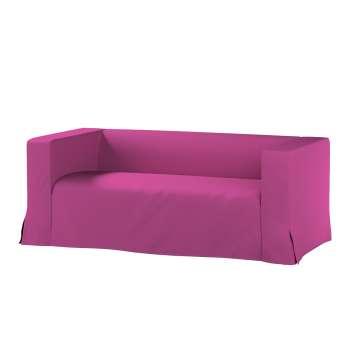 Klippan 2-Sitzer Sofabezug lang mit Kellerfalte von der Kollektion Etna, Stoff: 705-23