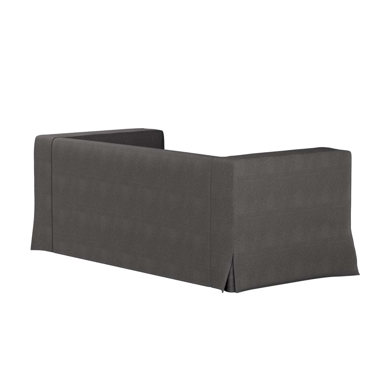 Pokrowiec na sofę Klippan 2-osobową długi z kontrafałdami w kolekcji Etna, tkanina: 705-35