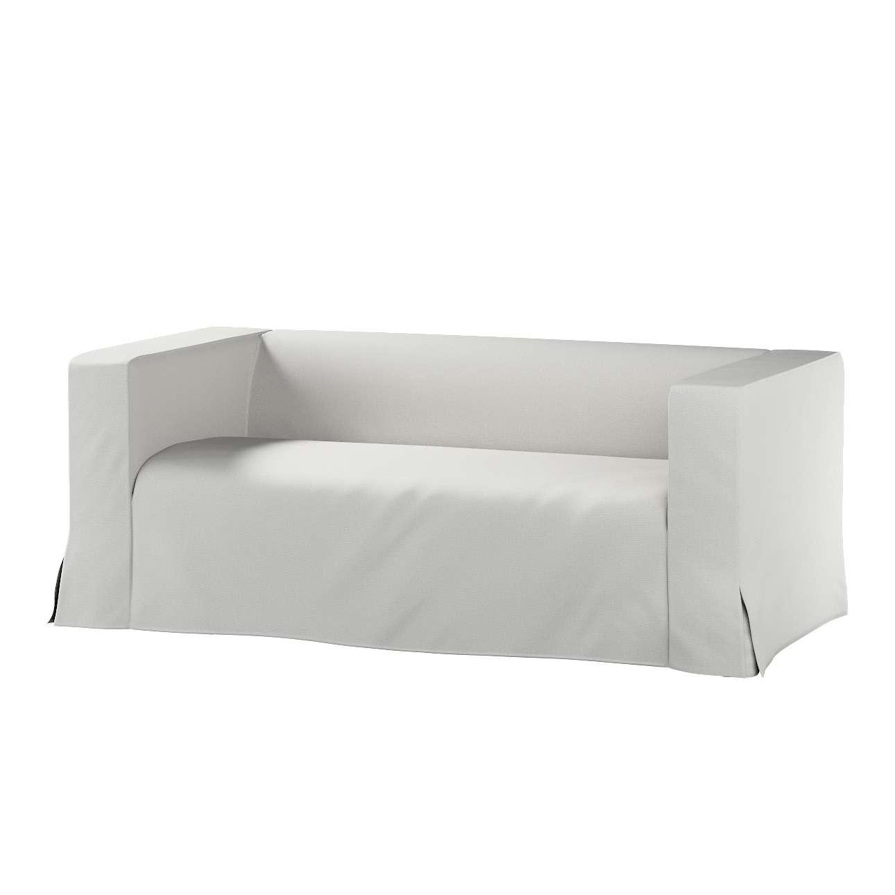 Pokrowiec na sofę Klippan 2-osobową długi z kontrafałdami Klippan 2-os w kolekcji Etna , tkanina: 705-90
