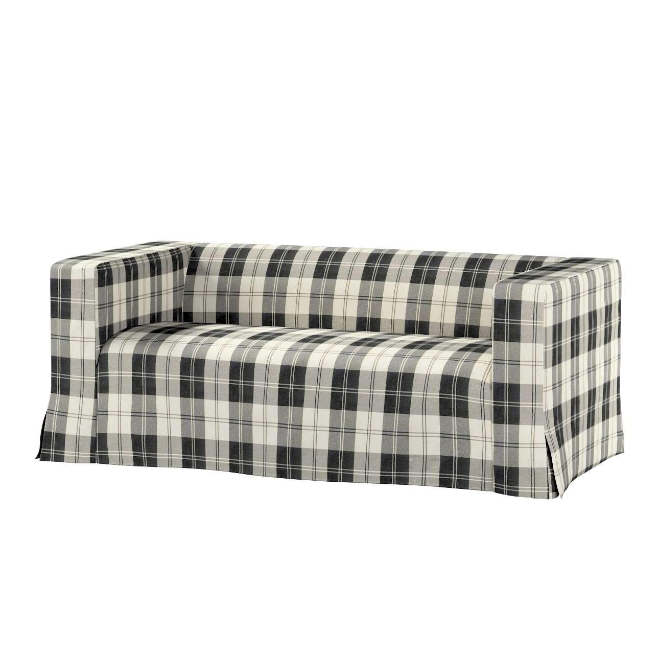 Pokrowiec na sofę Klippan 2-osobową długi z kontrafałdami Klippan 2-os w kolekcji Edinburgh, tkanina: 115-74