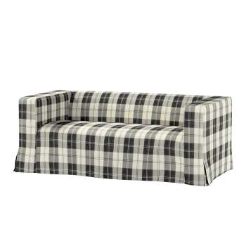 Klippan 2-Sitzer Sofabezug lang mit Kellerfalte von der Kollektion Edinburgh , Stoff: 115-74