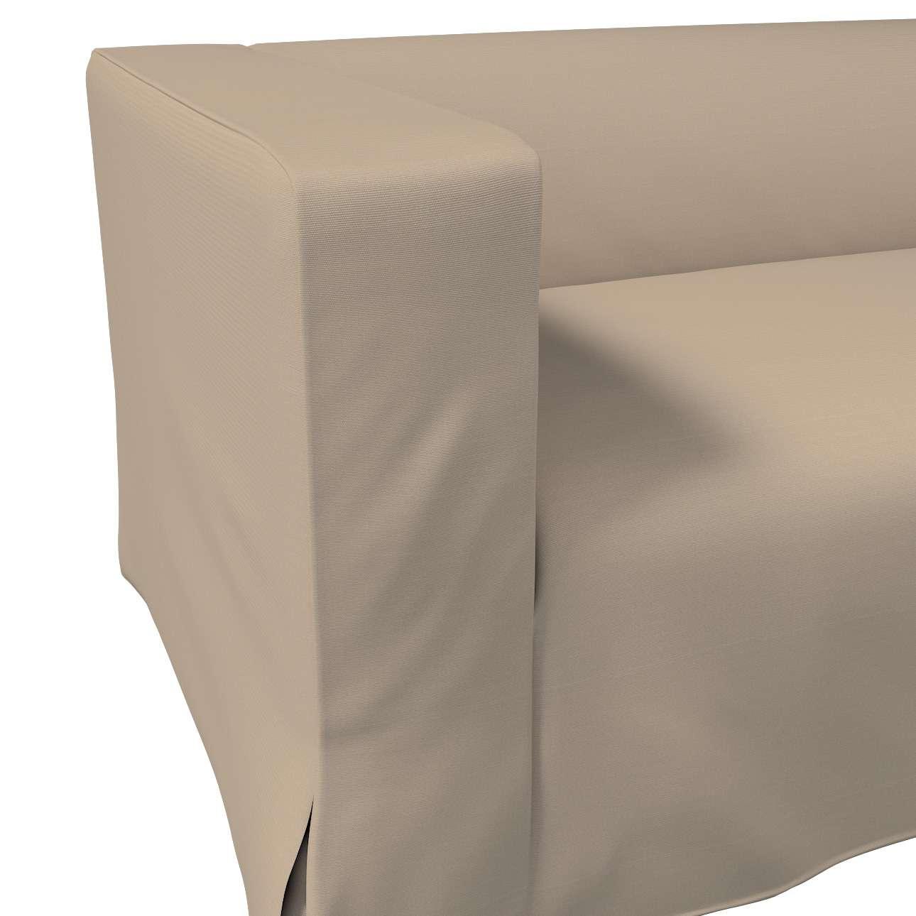 Klippan dvivietės sofos užvalkalas (ilgas, iki žemės) kolekcijoje Cotton Panama, audinys: 702-28