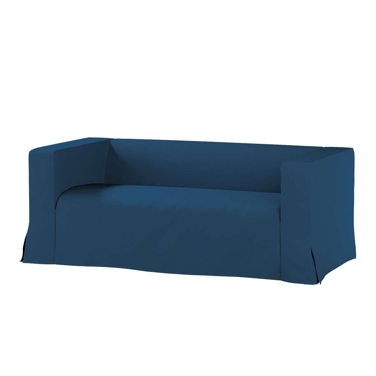 Klippan dvivietės sofos užvalkalas (ilgas, iki žemės) Klippan dvivietės sofos užvalkalas (ilgas, iki žemės) kolekcijoje Cotton Panama, audinys: 702-30