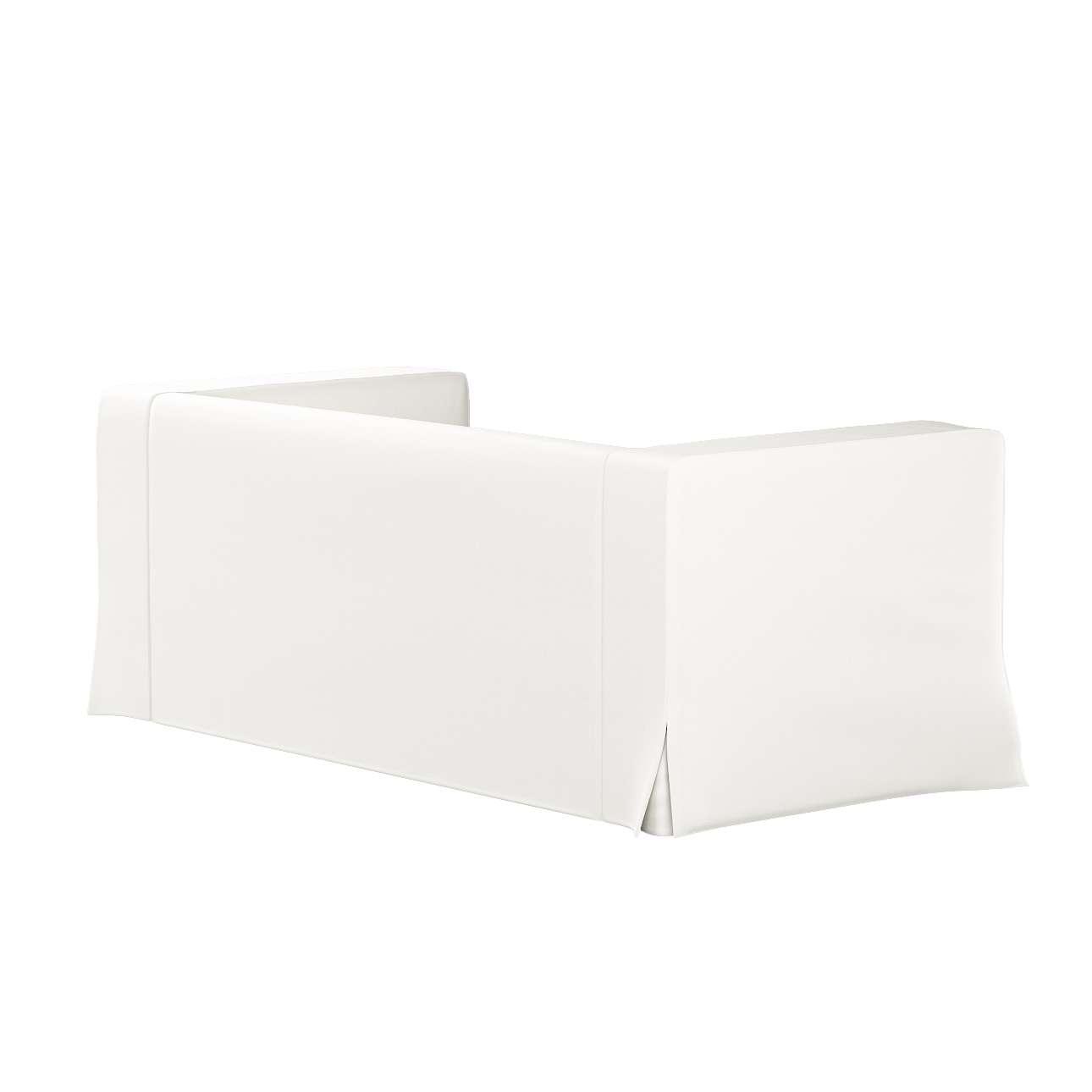 Poťah na sedačku Klippan pre 2 osoby dlhý s rohovými záhybmi V kolekcii Cotton Panama, tkanina: 702-34