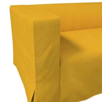 Pokrowiec na sofę Klippan 2-osobową długi z kontrafałdami w kolekcji Etna, tkanina: 705-04