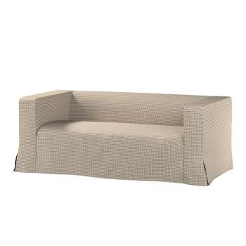 Klippan 2-seater floor length sofa cover with box pleats