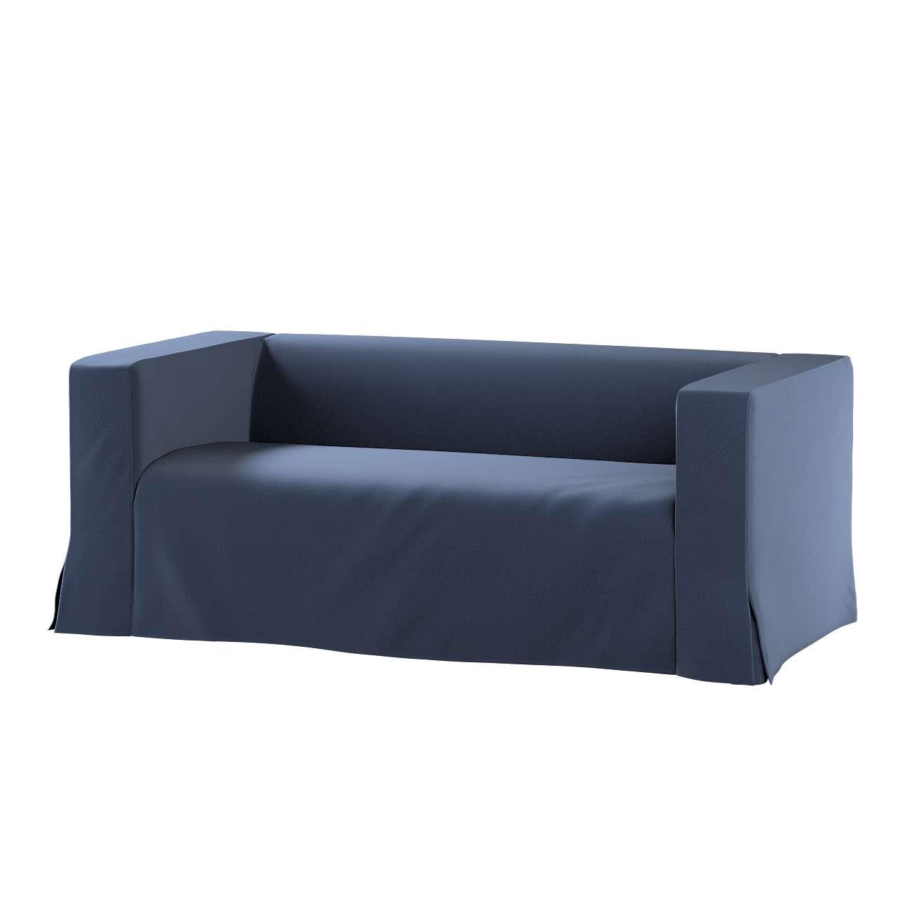Pokrowiec na sofę Klippan 2-osobową długi z kontrafałdami w kolekcji Ingrid, tkanina: 705-39