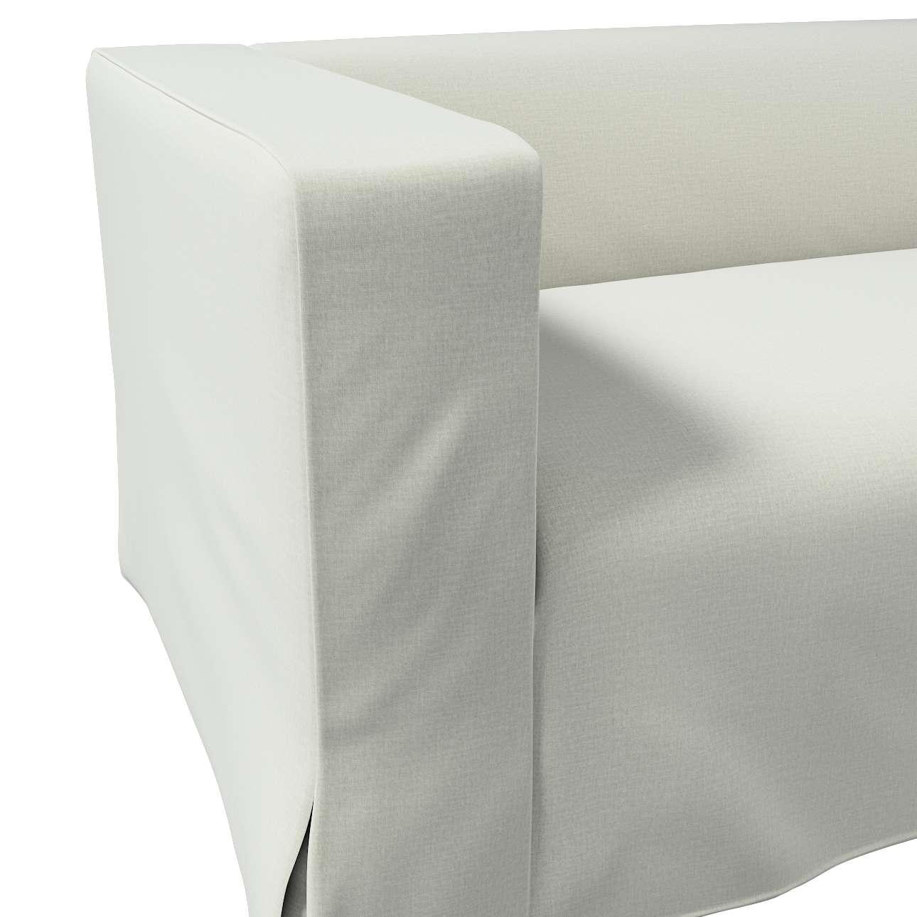 Pokrowiec na sofę Klippan 2-osobową długi z kontrafałdami w kolekcji Ingrid, tkanina: 705-41