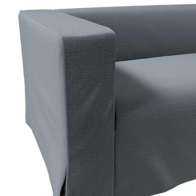 Pokrowiec na sofę Klippan 2-osobową długi z kontrafałdami w kolekcji Ingrid, tkanina: 705-43