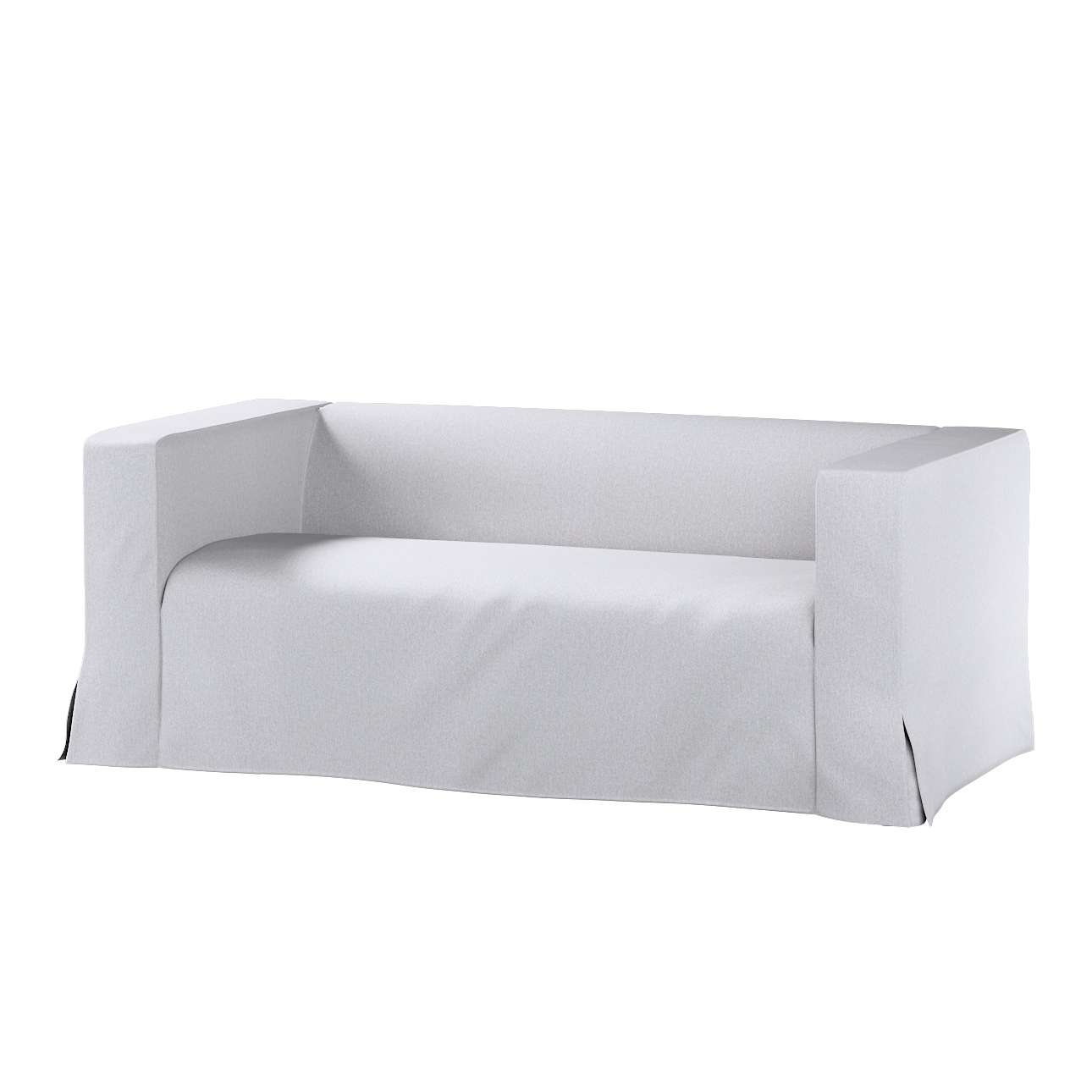 Pokrowiec na sofę Klippan 2-osobową długi z kontrafałdami w kolekcji Amsterdam, tkanina: 704-45
