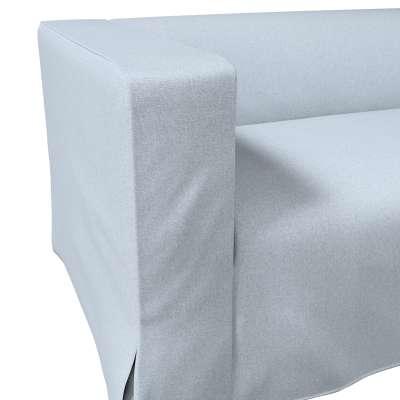 Pokrowiec na sofę Klippan 2-osobową długi z kontrafałdami w kolekcji Amsterdam, tkanina: 704-46