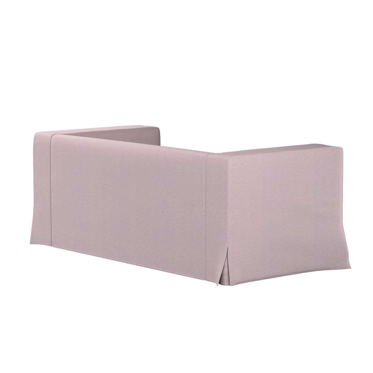 Bezug für Klippan 2-Sitzer Sofa, lang mit Kellerfalte von der Kollektion Amsterdam, Stoff: 704-51