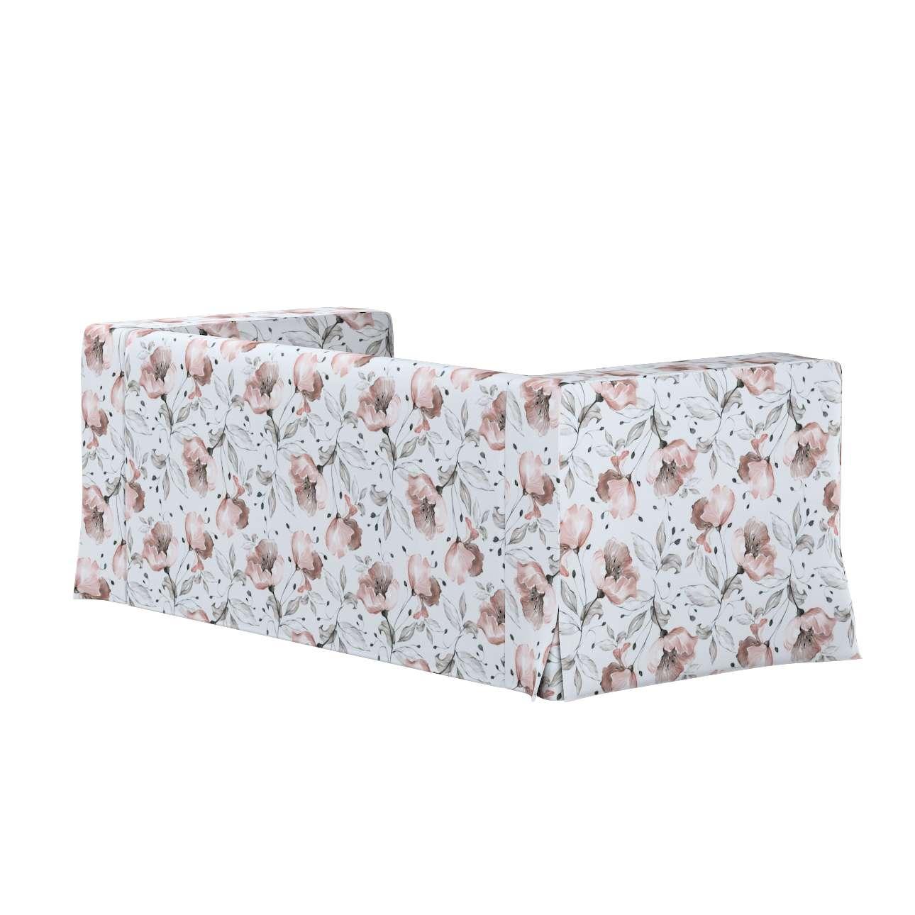 Pokrowiec na sofę Klippan 2-osobową długi z kontrafałdami w kolekcji Velvet, tkanina: 704-50