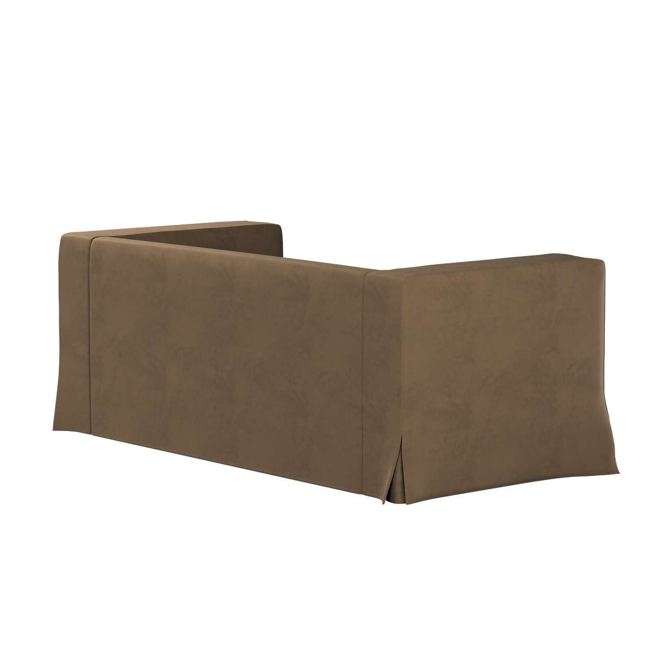 Pokrowiec na sofę Klippan 2-osobową długi z kontrafałdami w kolekcji Living, tkanina: 160-94