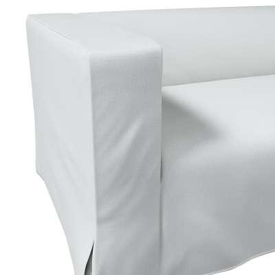 Pokrowiec na sofę Klippan 2-osobową długi z kontrafałdami w kolekcji Living, tkanina: 161-18