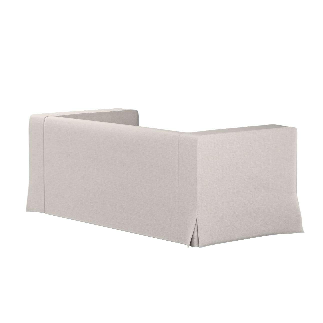 Pokrowiec na sofę Klippan 2-osobową długi z kontrafałdami w kolekcji Living II, tkanina: 161-00