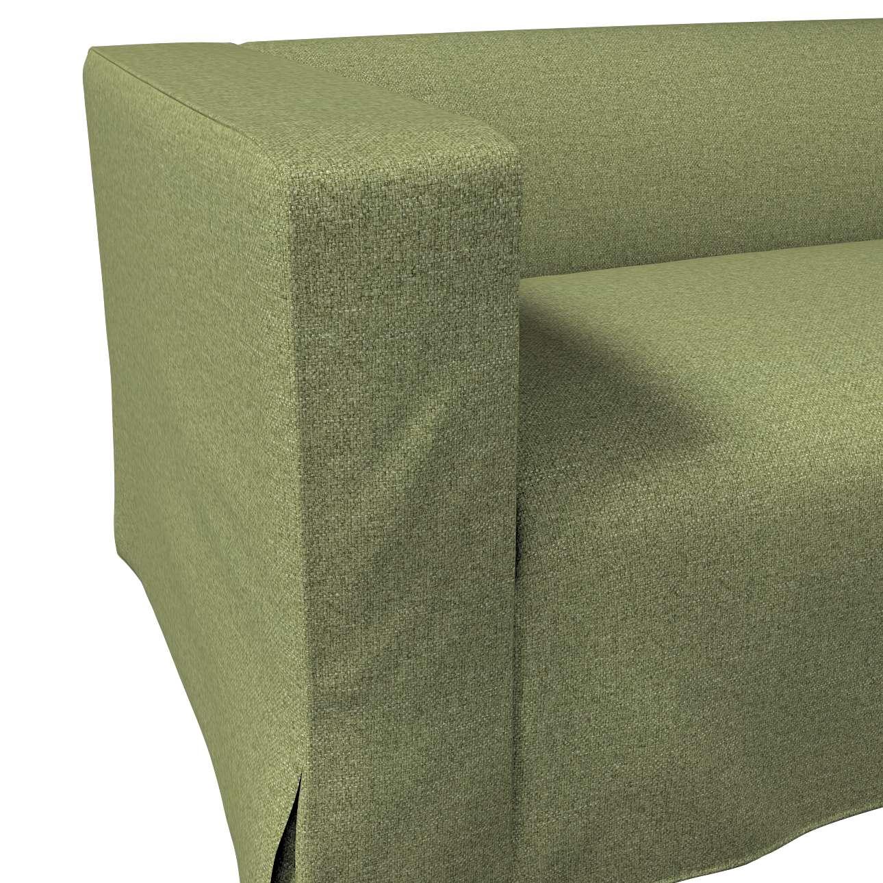 Pokrowiec na sofę Klippan 2-osobową długi z kontrafałdami w kolekcji Madrid, tkanina: 161-22