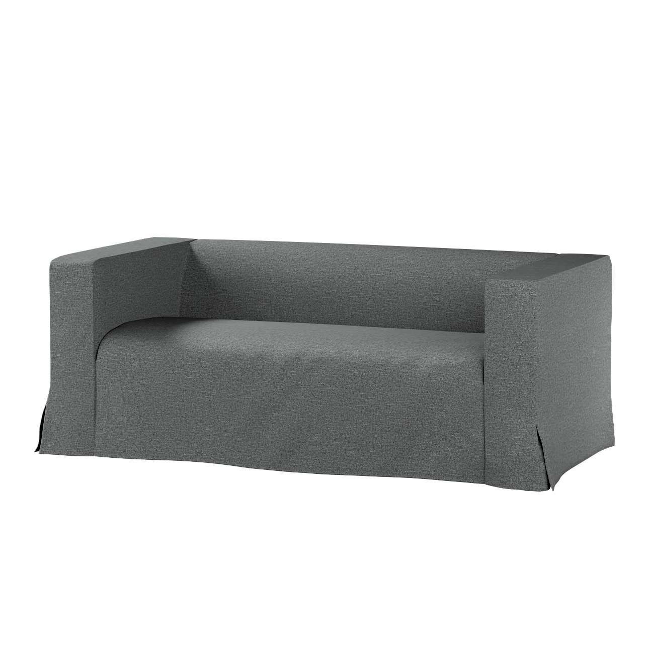 Pokrowiec na sofę Klippan 2-osobową długi z kontrafałdami w kolekcji Madrid, tkanina: 161-24