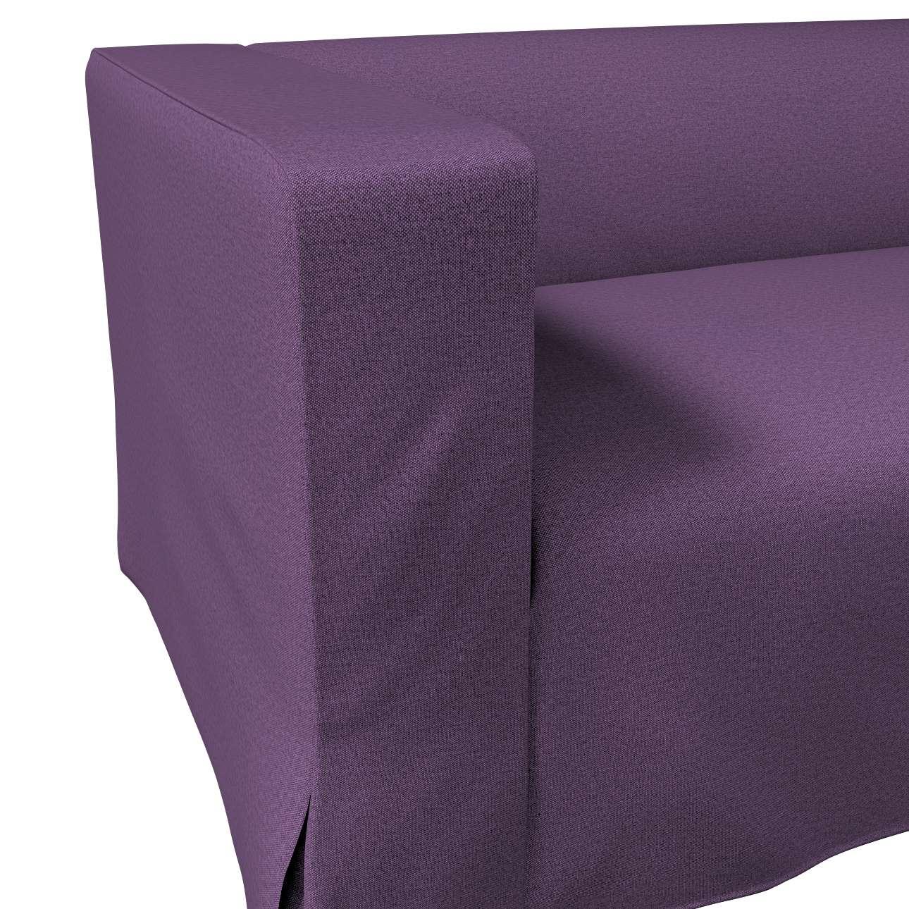Pokrowiec na sofę Klippan 2-osobową długi z kontrafałdami w kolekcji Etna, tkanina: 161-27